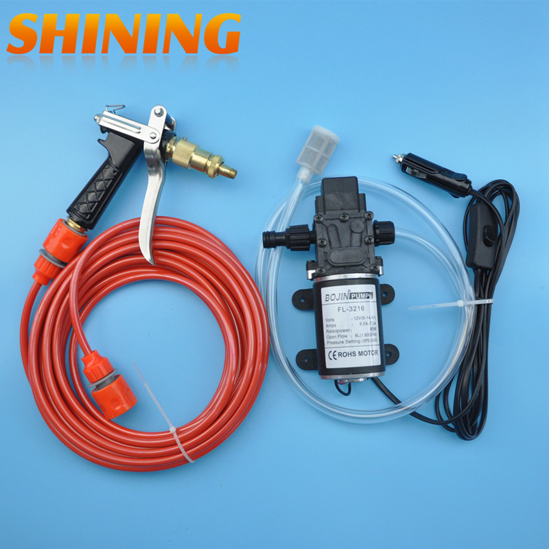 85W 12V High Power Water Pump High Pressure Electric Car