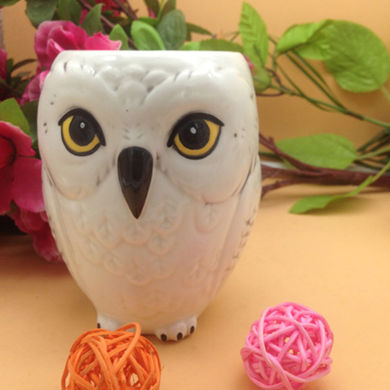 Owl Mug Hedwig Ceramic Mug Coffe Cups