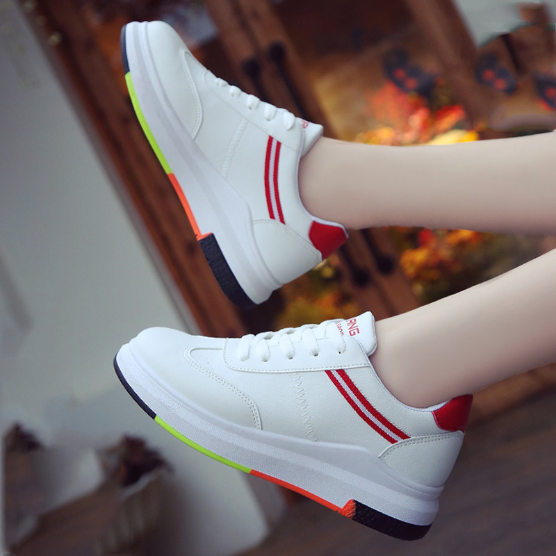 New 2018 Spring Summer Shoes Women Flats Soft Leather Fashion Women's Casual Brand White Shoes Breathable Comfortable z456 micro micro 2017 men casual shoes comfortable spring fashion breathable white shoes swallow pattern microfiber shoe yj a081