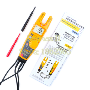 Image 3 - Fluke T6 1000 Non Contact AC True RMS Voltage/Current Clamp Meter with Hz, Resistance Test