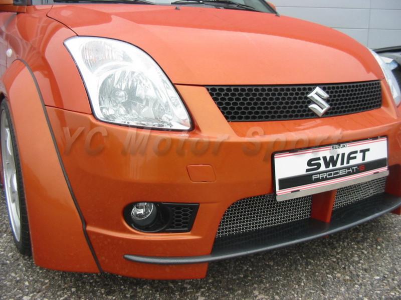 2004-2010 Suzuki SWIFT Königseder Style Wheel Flare Arch CF (8)