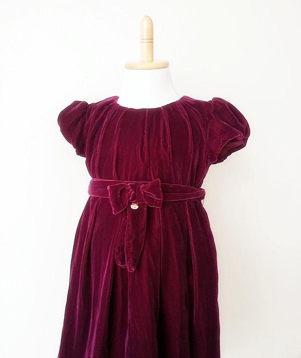 Aliexpress.com : Buy Retail ! fashion velvet dress for girls ...