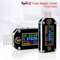 RD TC66/TC66C тип-c PD триггер USB Вольтметр Амперметр Напряжение 2 способ измеритель тока мультиметр PD зарядное устройство батарея USB Тестер