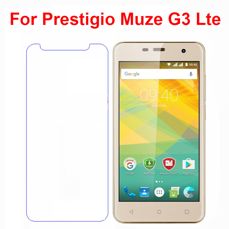 Screen Protector phone For <font><b>Prestigio</b></font> <font><b>Muze</b></font> <font><b>G3</b></font> <font><b>Lte</b></font> <font><b>PSP3511</b></font> <font><b>DUO</b></font> phone Tempered Glass SmartPhone Film Protective Screen Cover image