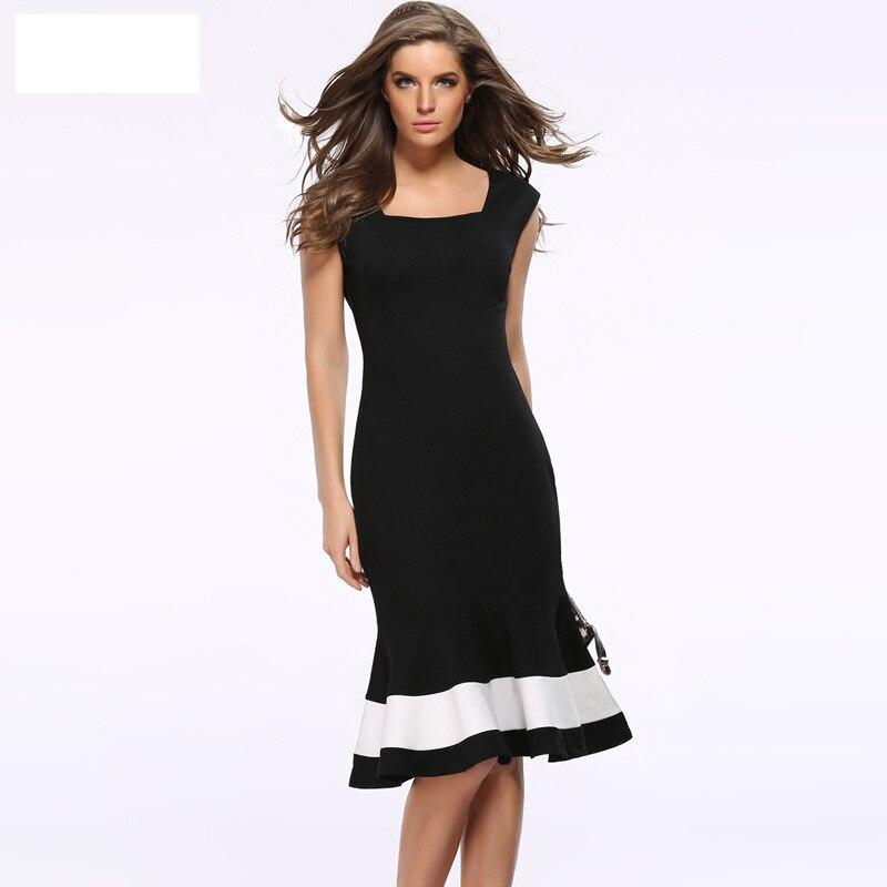 Ruhák Hableány Nagy méretű ruha 2017 nyári új Sundress - Női ruházat