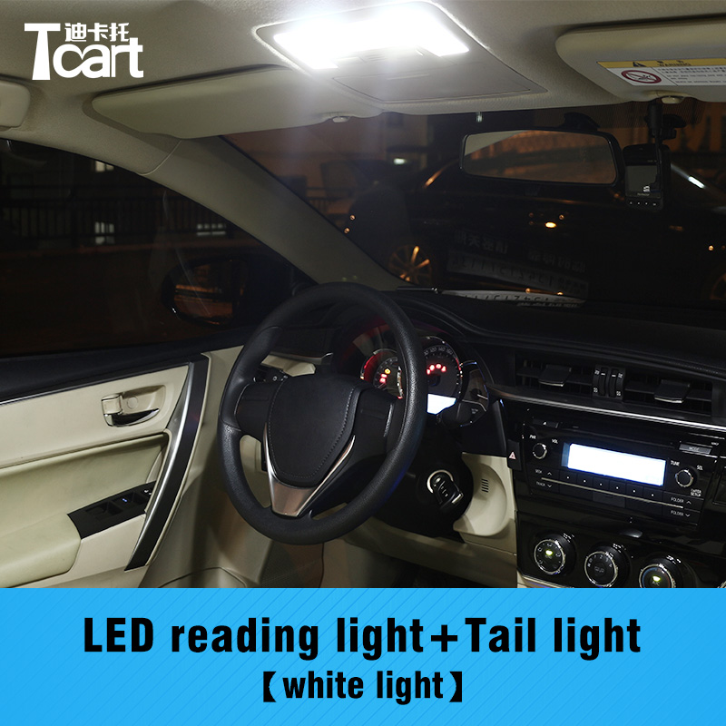 Tcart 4pcs error free led interior light for toyota - 2015 toyota corolla interior lights ...