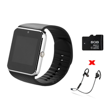 ZAOYIMALL * Bluetooth Smart Watch GT08 watches With Sim Card slot wearable devices For Samsung iphone android pk u8 dz09 watch
