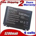 5200 mAh bateria do portátil para Asus k40ab k40in k40ij k40ad k50ij K50in k50af k50id k51ae k51ac k51ab k70ab k60ij k61ic k70ic k70io