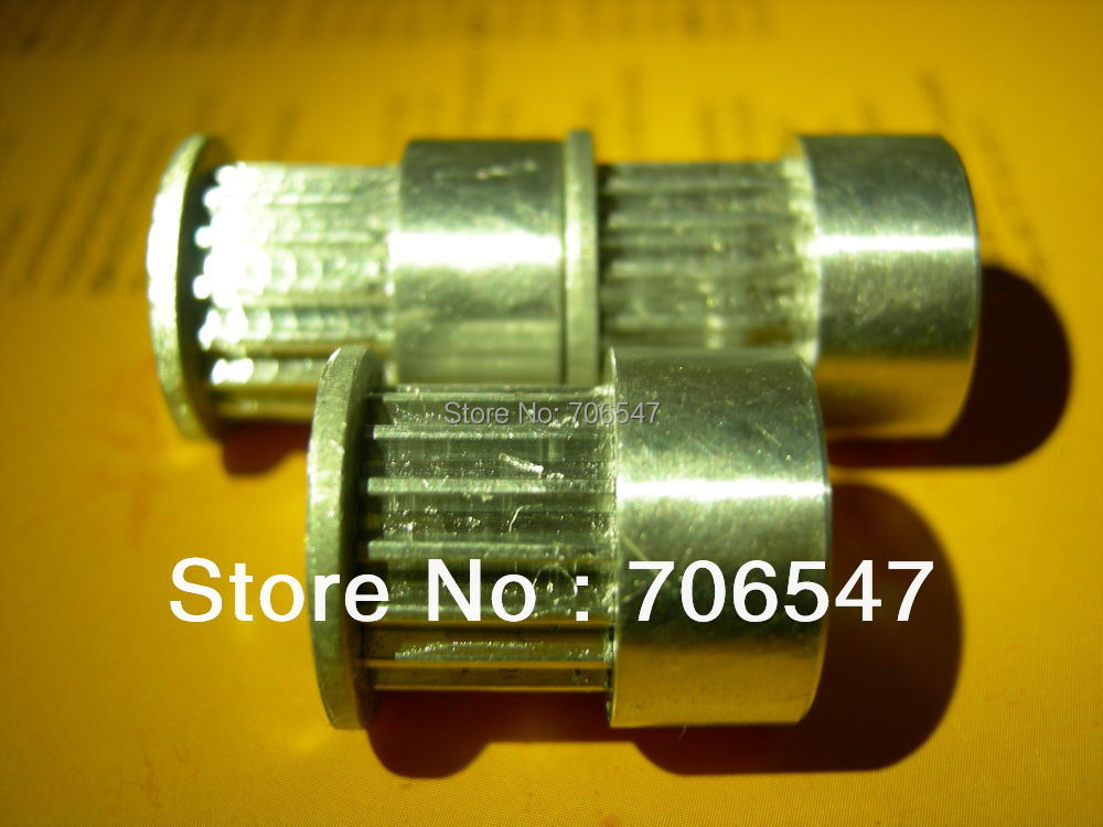 Free Shipping 10 Pcs 16T2.5 Aluminum Timing Belt Pulley And 10m PU T2.5 Open Timing Belt Wholesale $35 цены