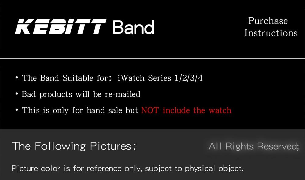 banda correia de substituição para apple watch 5 40mm 44mm