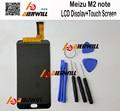 Display lcd + de tela de toque meizu m2 note 100% acessórios para telefone reparação substituição digitador assembléia + ferramentas gratuitas
