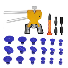 PDR Tools Golden Dent Lifter Dent Puller Paintless Dent Repair Tools Dent Removal Hand Tools Set