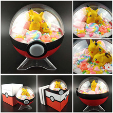 Hight Quality Cute Pokeball Mini Pikachu candy Figures Monster Model Action Figure Pocket Toys For Childrens Christmas Gift Toys