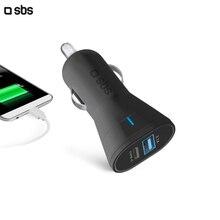 АЗУ 1 USB/Type-C 3A, черный, SBS