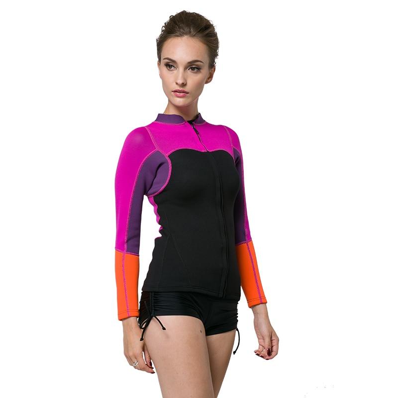 bb432ae62 2mm neopreno sucba buceo mujeres Rush Guard natación surf traje cuerpo  corto en Trajes de cuerpo de Deportes y ocio en AliExpress.com