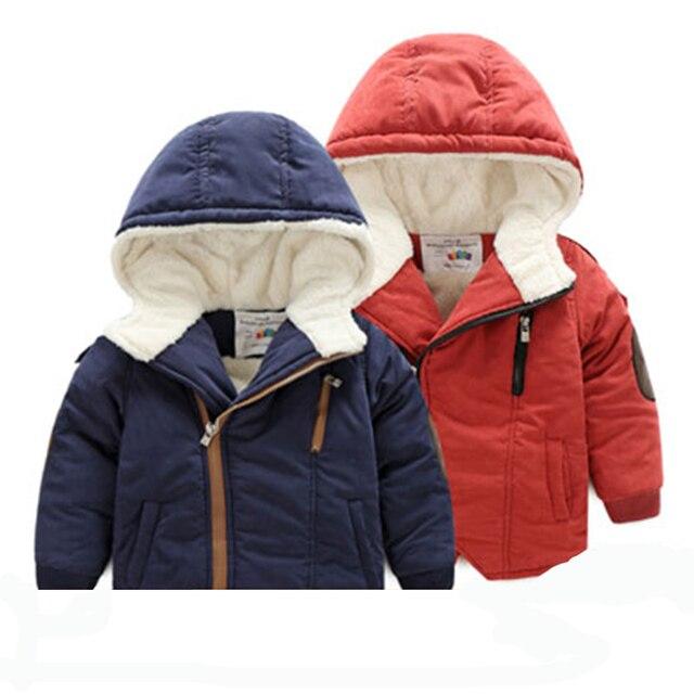Giacca invernale per il ragazzo parka cappotti giacche invernali per bambini  autunno inverno con cappuccio cappotto e2cf0bf88916