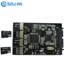 SD для SATA жесткий диск адаптер карты группы SSD карты Micro SD для SATA адаптер