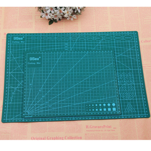 Image 3 - A3 A4 Cutting Mats Pvc Rectangle Grid Lines Self Healing Cutting Board Tool Fabric Leather Paper Craft DIY Tools Plate Pad