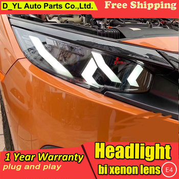 Car Styling tail lights case for Honda CIVIC headlights G10 MK10 Bugatti headlights LED headlight Running lights LED Rear Lamp