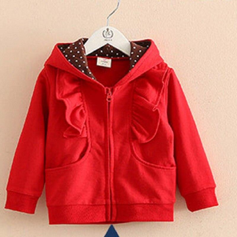 cec8de7f1 Child long-sleeve with a hood outerwear 2016 autumn girls child ...