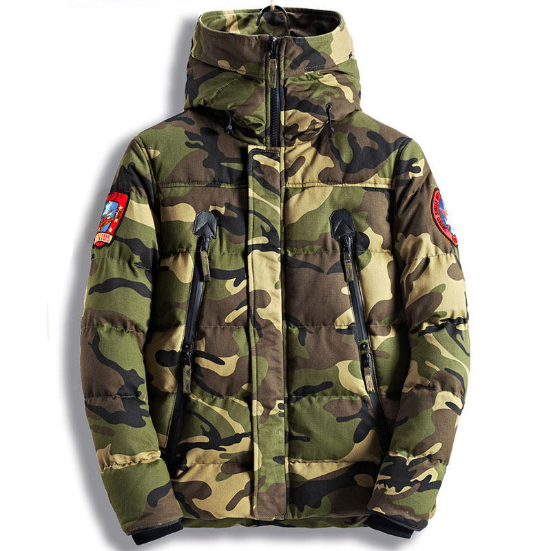 Image 5 - Parka Men Winter Jackets Cotton Chaquetas Hombre Camo Overcoat Mens Casual Camouflage Mens Jackets and Coats Wholesale-in Parkas from Men's Clothing
