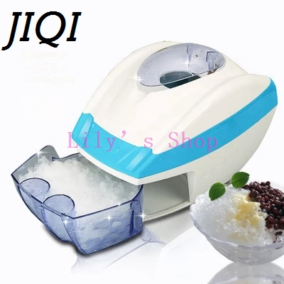 Stainless Steel electric ice shavers Crusher chopper ice slush maker icecream snow cone ice block breaking machine EU US plug jiqi electric ice crusher shaver snow cone ice block making machine household commercial ice slush sand maker ice tea shop eu us