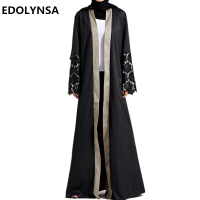 Dubai Abaya Muslim Dress Dubai Abaya Dresses Kaftan Abaya Dresses Brand Fashion Muslim Dress Solid Plus
