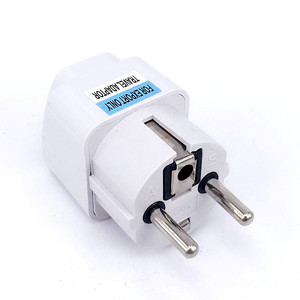 Universal European EU Plug Adapter International AU UK US To EU Euro Travel Adapter Electrical Plug Converter Power Socket