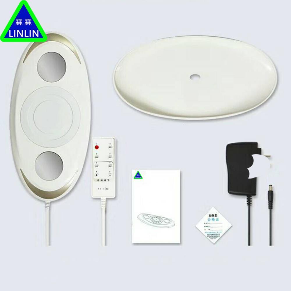 LINLIN Lumbar massager Lumbar disc lumbar protrusion tractor Positive cervical massage and waist protection