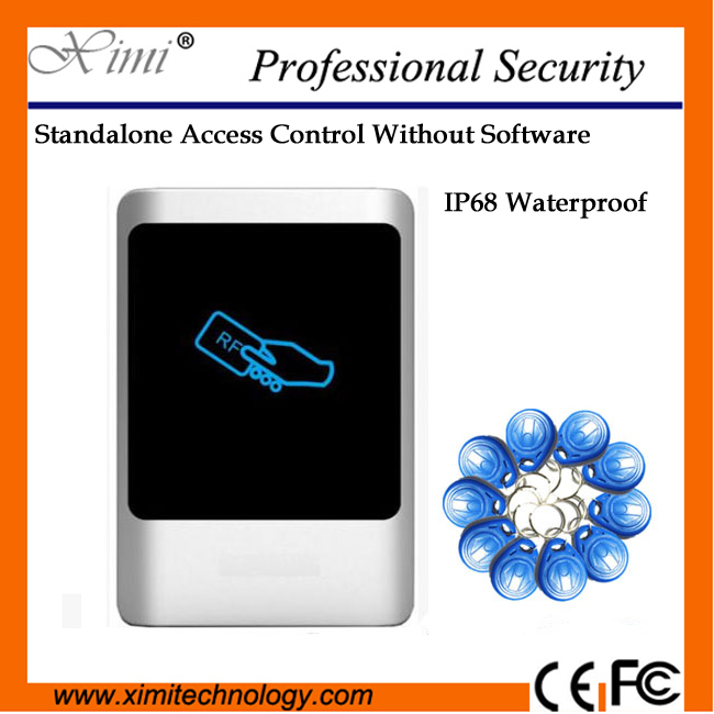 Ip68 Waterproof Smart Access Control No Software 125Khz Card M07 Single Access Controller