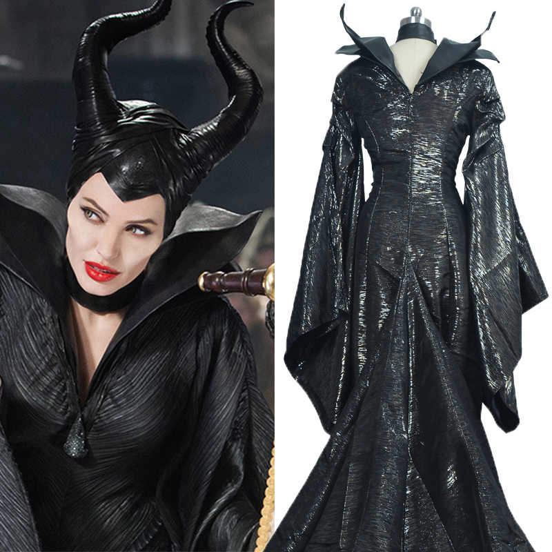 Maleficent Costumes Custom Made Dark Witch Maleficent Adult