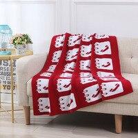 Baby blanket newborn knitted cotton wrapped blanket 2018 children super soft bedding sofa blanket baby stroller blanket 90*110cm