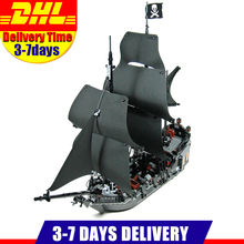 In Stock DHL Free 2018 804PCS LEPIN 16006 Pirates of the Caribbean The Black Pearl Ship