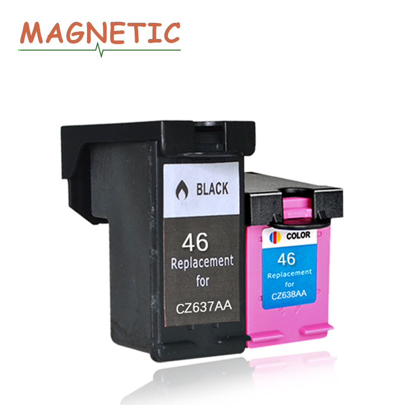 Magnetic Compatible Ink Cartridge For HP46 46xl For HP 46 DeskJet 2020hc 2025hc 2520hc 2029 2529 4729 PrinterMagnetic Compatible Ink Cartridge For HP46 46xl For HP 46 DeskJet 2020hc 2025hc 2520hc 2029 2529 4729 Printer