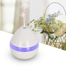Adoolla Ultrasonic Humidifier Essential Oil Aroma Diffuser Air Humidifier Pear Shape Mist Maker Purifier Aromatherapy Diffuser aromacare 600ml essential oil diffuser aroma diffuser ultrasonic humidifier mist maker aromatherapy air purifier woodgrain