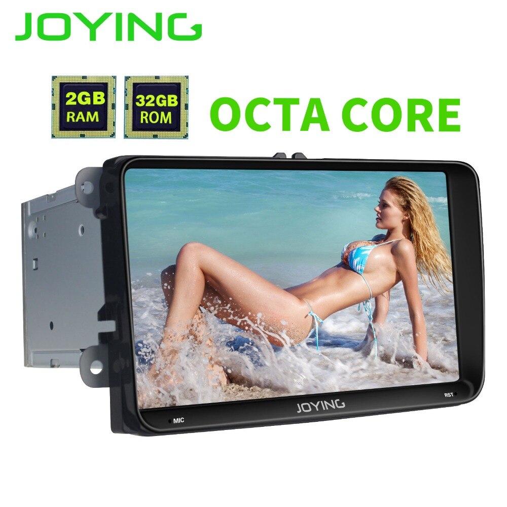 JOYING 9 ''8 core android 6.0 dvd de voiture pour vw passat b7 b6 golf polo tiguan octavia rapide fabia avec gps navigation radio lecteur