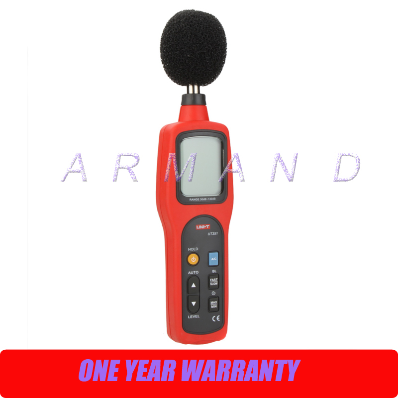 30 to 130dB Data Hold Sound Level Meters UT351 женское платье fan sina n14xq1304 2015