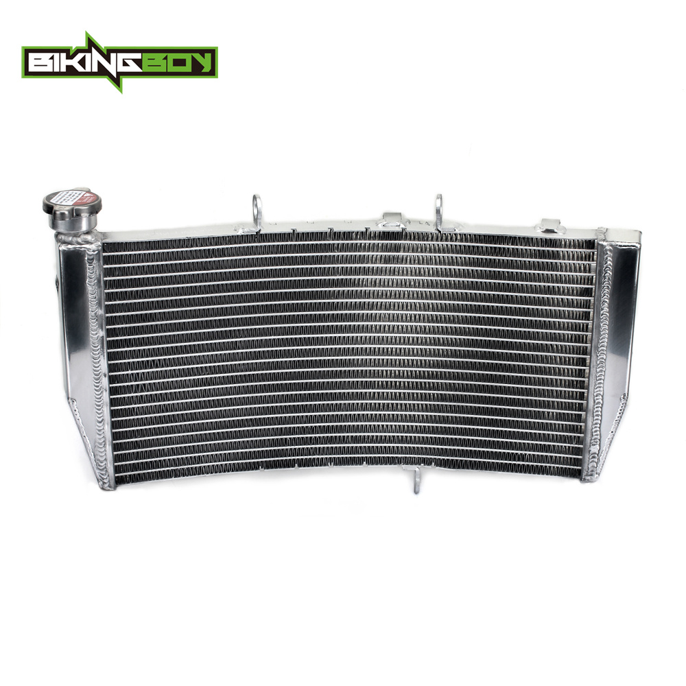 BIKINGBOY 1 Set Street Bike ALU Cores Engine Water Cooling Radiator Radiators For HONDA CBR 954