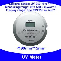 UV Meter UV integrator Radiometer UV tester detector monitor checker UV250 410nm 0~5000mW/cm2 0~999999mJ/cm2 Free shipping