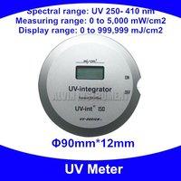 UV Meter UV integrator Radiometer UV tester detector monitor checker UV250 410nm 0~5000mW/cm2 0~999999mJ/cm2 Free shipping