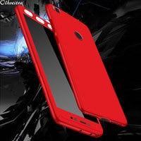 Carcasa de teléfono de 360 grados para Xiaomi Mi Max MiMax2, funda con película de vidrio templado, accesorios para Xiaomi Mi Max 2 MiMax