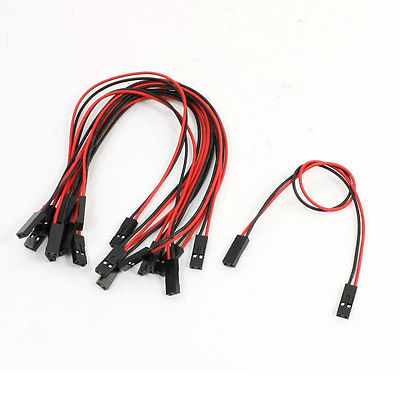 Aliexpress.com : Buy 10x Black Red Connect Line Wire Cable 2P 2P ...