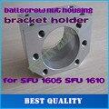 Ballscrew nut habitação bracket suporte para SFU1604 SFU1605 SFU1610 Liga de Alumínio Material para 1605 parafuso da esfera