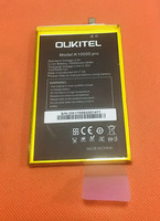 Used Original 10000mAh Battery Batterie Batterij Bateria For Oukitel K10000 Pro MTK6750T 5 5 FHD