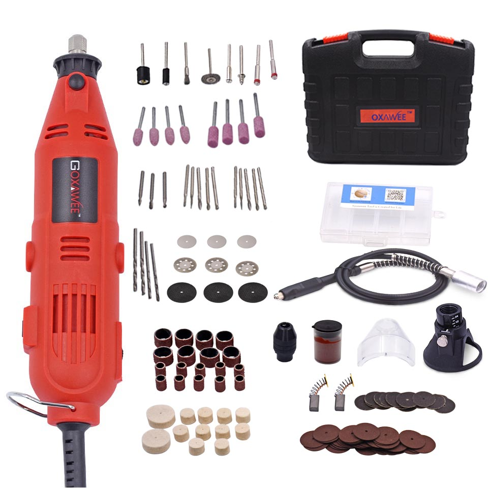 Broyeur à matrice Variable outils abrasifs en céramique en métal Micro perceuse à main électrique Mini graveur avec outil de polissage perceuse électrique