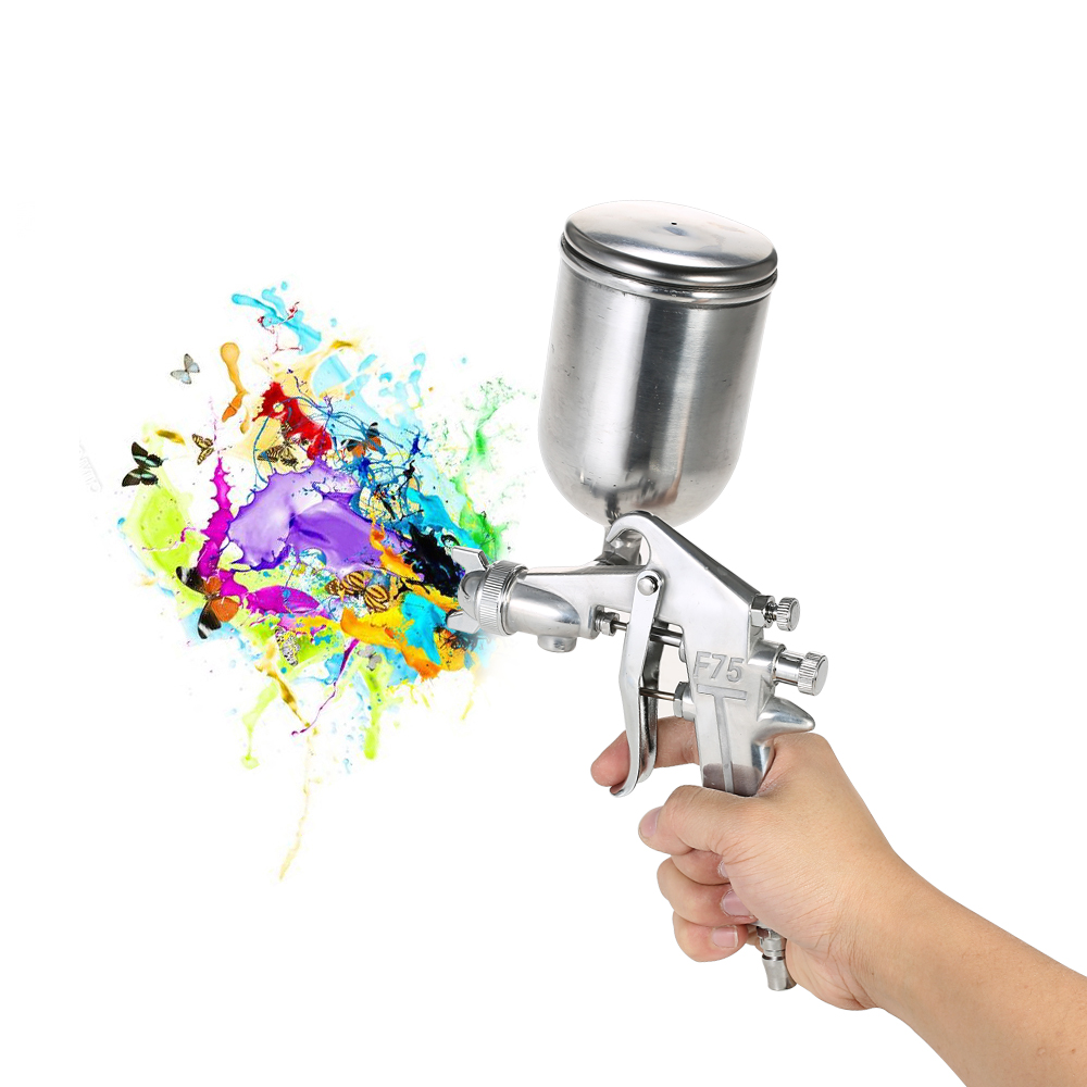 Power Tools Cheap Sale New Professional Hvlp Spray Gun Car Repair Paint Spray Guns 1.3mm Nozzle For Painting Car Aerografo Paint Sprayer Airbrush Smoothing Circulation And Stopping Pains