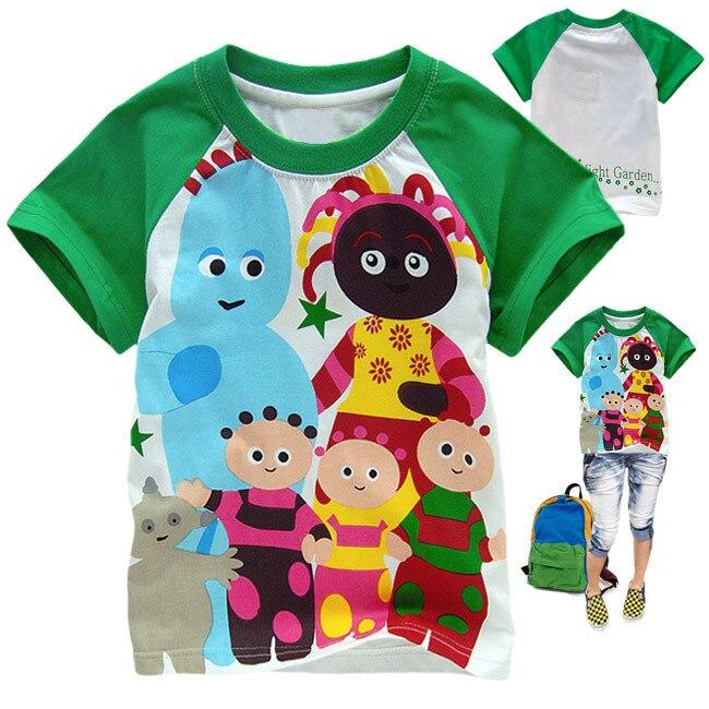 d07b5f9cb0 Hot Kids Cartoon In The Night Garden T-Shirt Boys Girls Short Sleeve Cotton T  Shirts Children s Summer Tees Tops