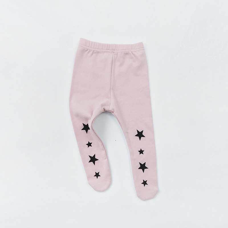 0 2yrs Baby Girl Tights Newborn Pantyhose for Boys Knit Baby Tights Solid Color Cotton Children Stockings Kid Baby Girls Tights in Tights from Mother Kids