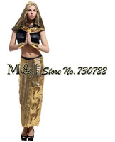 Free shipping!Adult women's Egyptian princess costumes Halloween carnival festival costumes cleopatra costumes for the reception