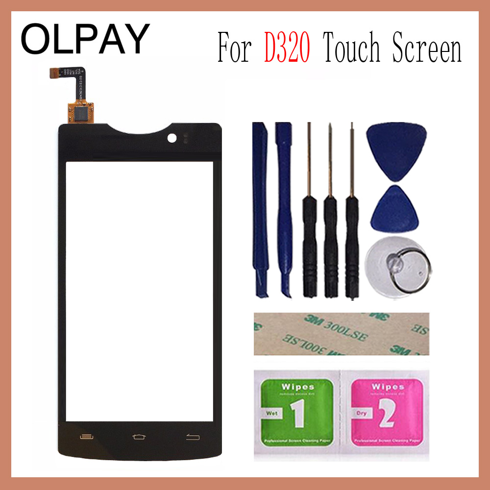 OLPAY 4 5 Mobile Touch Panel Front For Micromax D320 Touch